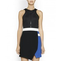 Camilla & Marc Iron Mystery Dress $499.00 http://www.camillaandmarc.com/iron-mystery-dress-black-a-blue-w-white.html