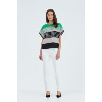 Geometric print top, Country Road, $149 http://www.countryroad.com.au/shop/woman/clothing/t-shirts-and-tops/60160151/Geometric-Print-Top.html