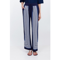 Country Road Scarf Print Pant, $129 http://www.countryroad.com.au/shop/woman/clothing/pants/scarf-print-pant-60157974