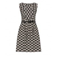 This Cue dress will look sharp with cropped jacket in black or white, or a colour http://www.cue.cc/shop/Product/Angled-Bodice-Dress-C9267-S13/201333
