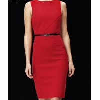 Cross Panel Sleeveless Dress, David Lawrence, $299 http://www.davidlawrence.com.au/product-detail.html?styl=13957&clr=TERRACOTTA&cat=168#.UhDIV0EwpLY