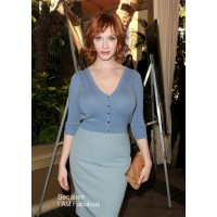Christina Hendricks wearing Dolce & Gabbana