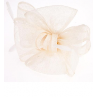 Ameise Bow Fascinator Cream, $63.95 http://fashionably-yours.com.au/ameise-bow-fascinator-cream/