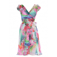 Floral - Blair Silk Wrap Dress, Sacha Drake http://www.sachadrake.com/WEDDINGS/BRIDESMAIDS/SDSU13BL01FL/BLAIR-SILK-WRAP-DRESS.html#