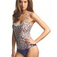 Freya Swim - Valentine 50s Halter Tankini Singlet http://www.carlaswimwear.com.au/valentine-underwire-50s-halter-tankini-singlet