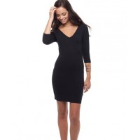 V-Neck bodycon http://www.theiconic.com.au/V-Neck-3-4-Sleeve-Mini-Bodycon-144858.html?nosto=productpage-similar-items
