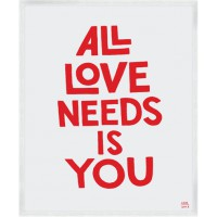 Christopher David Ryan All Love Needs print; US$10 – US$88 http://www.mylittleunderground.net/product/all-love-needs-print