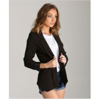 Lovely Girl - Black Tuxedo Blazer $ 89 http://www.pitbullmansion.com/products/black-tuxedo-blazer