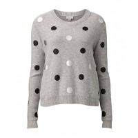CREATIVE: Witchery Foiled Spot knit, $129.95 http://www.witchery.com.au/shop/her/clothing/60166327/Foiled-Spot-Knit.html