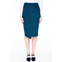 CREATIVE: Veronika Maine Cross Dye Weave Asymmetric skirt, $146.30 https://www.veronikamaine.com.au/Products/Cross-Dye-Weave-Asymmetric-Skirt-V1837-W14/112623