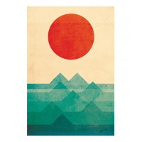 Budi Satria Kwan The Ocean, The Sea, The Wave print; $20 http://society6.com/product/The-ocean-the-sea-the-wave_Print#1=45