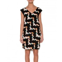 JAG crossover back dress https://www.jag.com.au/JS45568-CROSSOVER-BACK-DRESS-Black-Multi-195301.aspx