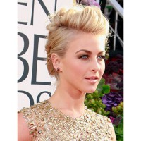 Julianne Hough's quiffed up-do. http://www.cosmopolitan.com/hairstyles-beauty/golden-globes-2013-makeup-and-hair#slide-14