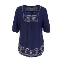 Olivia Embroidered Top, Birdsnest, $44.95 http://www.birdsnest.com.au/brands/nest-picks/36711-olivia-embroided-top#Blue