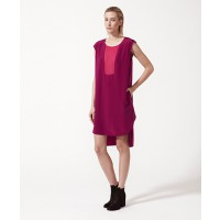 Life with Bird Window Dress Magenta $130 http://lifewithbird.com/products/27-window-dress