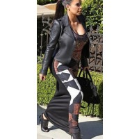 Kim in Givenchy. Image via http://shelookbook.com/kim-kardashian-pregnant-long-dress-givenchy-hollywood.html