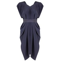 Knee length - Waterfall Silk Tie Dress, Willow http://www.willowltd.com/dresses/waterfall-silk-tie-dress/w1/i1026628_1001202/