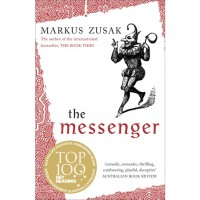 The Messenger by Marcus Zusack, $12 http://www.bigw.com.au/entertainment/books/popular-fiction/bpnBIGW_0000000359238/the-messenger