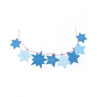 Star Deco Kit, Polli, $19.95 http://www.polli.com.au/homewares-and-decorations/star-deco-kit-blues