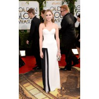 Laura Carmichael in Viktor and Rolf, Jerome C. Rousseau http://www.huffingtonpost.com/2014/01/12/golden-globes-red-carpet-2014_n_4499470.html