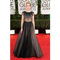 Lily Rabe in George Hobeika, Jerome Rousseau, Lyle Alexandra, Lorraine Schwartz http://www.huffingtonpost.com/2014/01/12/golden-globes-red-carpet-2014_n_4499470.html