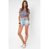 Flower Superpower Top, MINK PINK, $54 http://shopmarkethq.com/products/flower-superpower-top