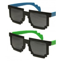 Minecraft Inspired Two Tone Pixelated Sunglasses https://www.etsy.com/au/listing/198835189/minecraft-inspired-two-tone-pixelated?ref=sr_gallery_10&ga_search_query=mincraft&ga_search_type=all&ga_view_type=gallery