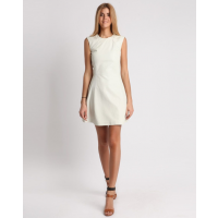 Ctrl You White Leather Dress - Was $1,155 - Now $229