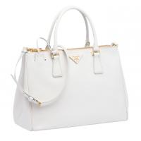 Prada White Handbag - Was $2,175 - Now $1389
