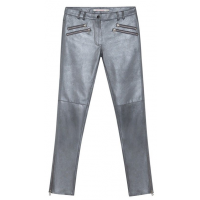 Virginie Castaway Leather Eva Grey Pant - Was $449 - Now $229