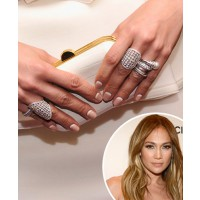 JLo goes for the upside down french mani http://www.popsugar.com.au/beauty/Celebrity-Beauty-Trend-Upside-Down-French- Manicure-26969934