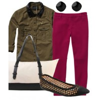 Look 1: Urban chic = $152.99