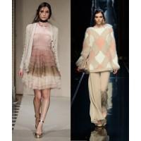 Naturally neutral: Luisa Beccaria via Vogue UK. http://www.vogue.co.uk/fashion/autumn-winter-2014/ready-to-wear/luisa-beccaria Ermanno Scervino via Vogue UK. http://www.vogue.co.uk/fashion/autumn-winter-2014/ready-to-wear/ermanno-scervino