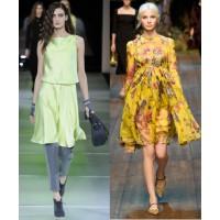 Giorgio Armani via WWD. http://www.wwd.com/runway/fall-ready-to-wear-2014/review/giorgio-armani/slideshow/7504898#/slideshow/article/7504820/7504898 Dolce & Gabbana via Style.com. http://www.style.com/fashionshows/complete/slideshow/F2014RTW-DGABBANA/#62