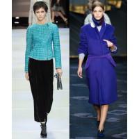 Emporio Armani via Vogue UK. http://www.vogue.co.uk/fashion/autumn-winter-2014/ready-to-wear/emporio-armani/full-length-photos/gallery/1131541 Tod's via Style.com. http://www.style.com/fashionshows/complete/slideshow/F2014RTW-TODS/#7