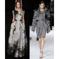 Alberta Ferretti via Vogue UK. http://www.vogue.co.uk/fashion/autumn-winter-2014/ready-to-wear/alberta-ferretti/full-length-photos/gallery/1129267 Just Cavalli via WWD. http://www.wwd.com/runway/fall-ready-to-wear-2014/review/just-cavalli/slideshow/749076