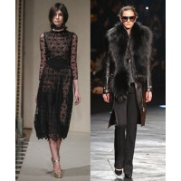 Luisa Beccaria via Vogue UK. http://www.vogue.co.uk/fashion/autumn-winter-2014/ready-to-wear/luisa-beccaria/full-length-photos/gallery/1132229 Roberto Cavalli via WWD. http://www.wwd.com/runway/fall-ready-to-wear-2014/review/roberto-cavalli/slideshow/7499