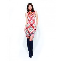 Ginger & Smart's Mosaic Sleeveless Dress encapsulates the geometric beauty of...yep, you guessed it...mosaic art. $349 from Ginger & Smart. http://shop.gingerandsmart.com/Products/SALE/DRESS/Mosaic_Sleeveless_Dress__W13074.aspx