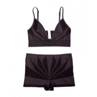 Art deco design is bold, decadent and luxurious. And cylk's Deco Bralet and Boyleg encapsulates all this and more. $44.50 from cylk. http://www.cylk.com.au/deco-bralet-boyleg-4