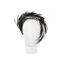 Gabriela Ligenza for Nana Aurora Black and White Feather Headband from Forzieri, $540. http://www.au.forzieri.com/womens-hats/nana/nn31239-007-00