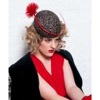 Lisa Schaefer Millinery Alice Hat, $295. http://www.lsmillinery.com.au/collections/autumn-winter-collection-2013-2014
