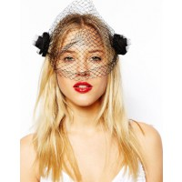 ASOS Rose bud headpiece, $15.84. http://www.asos.com/au/ASOS/ASOS-Rose-Bud-Veil-Headpiece/Prod/pgeproduct.aspx?iid=3794663&SearchQuery=rose%20bud%20headpiece&sh=0&pge=0&pgesize=36&sort=-1&clr=Black