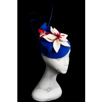 Lisa Schaefer Millinery Daisy Girl Hat, $345. http://www.lsmillinery.com.au/collections/racewear