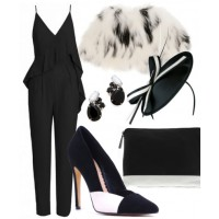 Look 3: Monochrome