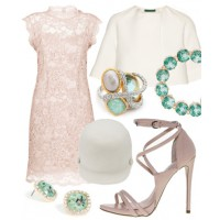 Look 5: Pretty pastels