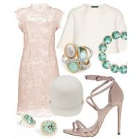 Look 5: Pretty pastels