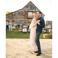 Best celeb bride: We're pretty sure Kate Bosworth looks good 24/7, but she looked especially ah- mazing on her big day. Source: Martha Stewart Weddings. http://www.marthastewartweddings.com/353012/kate-michael-rehearsal/@center/272446/real-weddings#352697