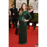 Best dressed yummy-mummy-to-be: Doesn't Olivia Wilde wear her bump – and this sparkling Gucci number – well? At: 2014 Golden Globes. via Style Bistro http://www.stylebistro.com/The+10+Best+Dressed+at+the+2014+Golden+Globes/articles/gS29yEcH2xm/Olivia+W