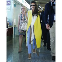 Best airport style: Victoria Beckham woman extraordinaire has her own fashion label. Need we say more? Via Daily Mail http://www.dailymail.co.uk/tvshowbiz/article-2346317/Victoria-Beckham-flies-China-wearing- stylish-sleeveless-yellow-jacket.html