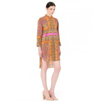 Scanlan Theodore Foulard Print Shirt Dress, $550. http://www.scanlantheodore.com/dresses/c36362-foulard-print-shirt-dress